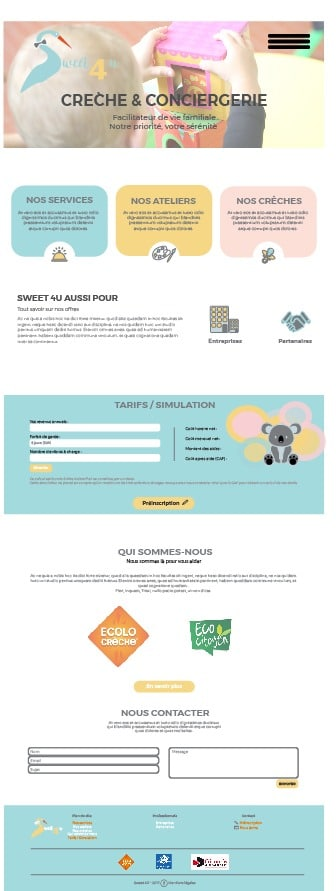 webdesign sweet 4 u