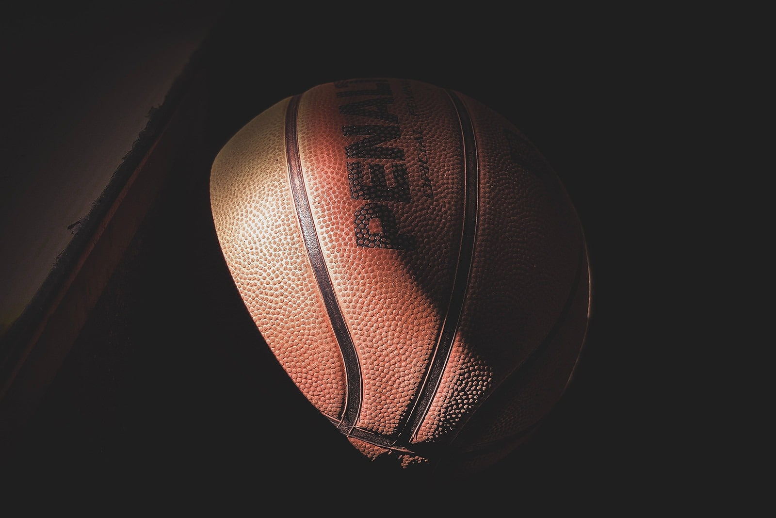 Photo d'un ballon de basket-ball