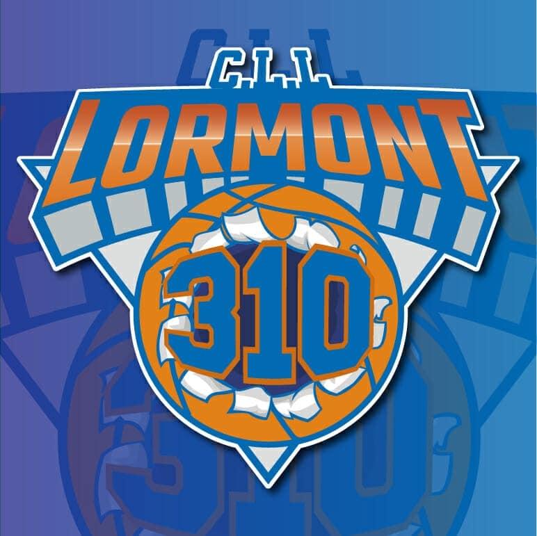 composition logo CLL Lormont