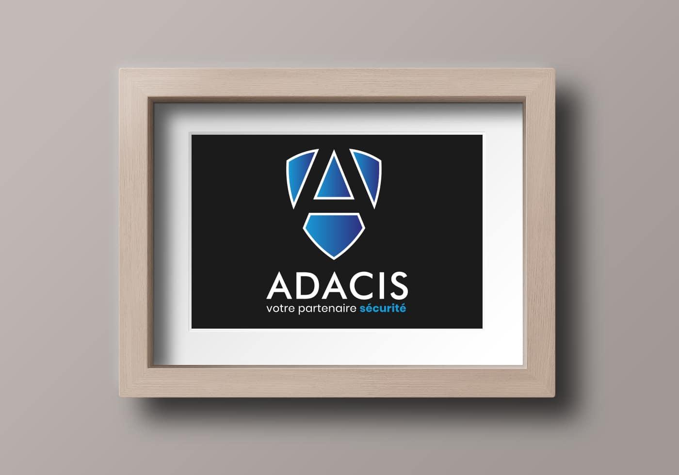 Cadre présentant le logo de la société ADACIS